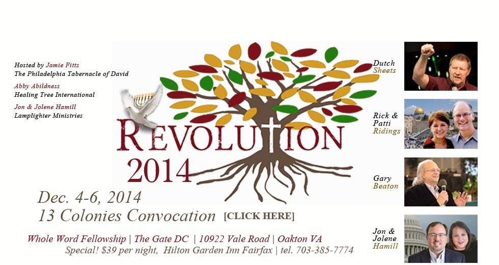 Announcing—Revolution 2014! With Dutch Sheets, More