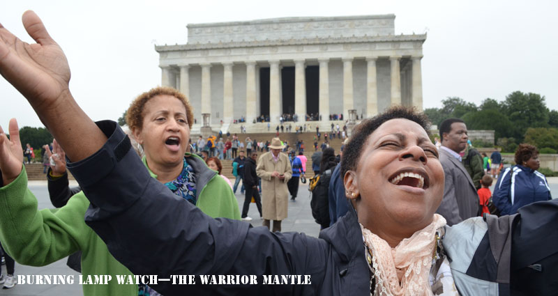 DC—Thousands Gather to Pray! The Isaiah 6 Encounter