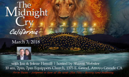 Purim Gate! Midnight Cry CA this Saturday! Note: Rome to Jerusalem Already Half Filled!