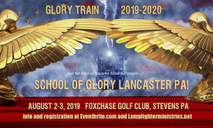 """""""It Sounded Like a Freight Train!"""" Glory Train on the Move!"""