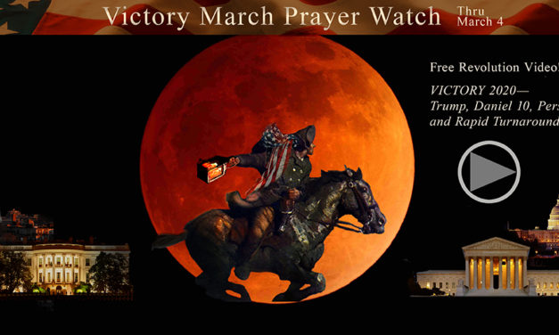 Victory March Prayer Project! Trial Marks Trump's Fourth Year