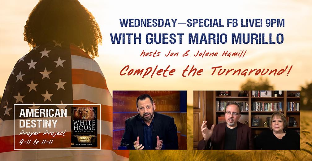 MARIO MURILLO TONIGHT! 9PM ET Facebook, Conference Call