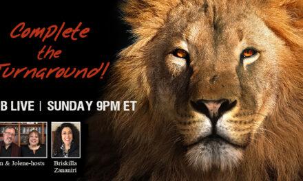 FB LIVE 9PM TONIGHT—COMPLETE THE TURNAROUND!