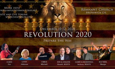 CALL TONIGHT—ANNOUNCING REVOLUTION 2020, BRUNSWICK GA!