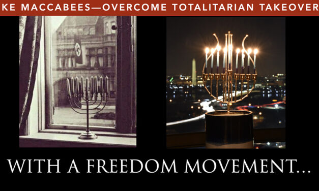 HANUKKAH 2020—AMERICA, YOU ARE DEFINED BY WHAT YOU TOLERATE!