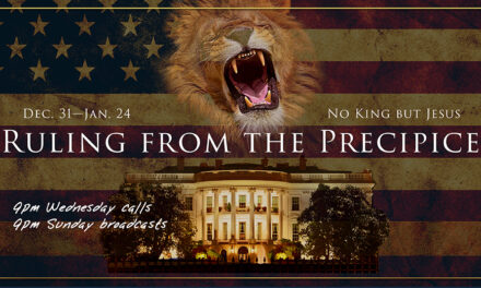 CALL TONIGHT! RULING FROM THE PRECIPICE